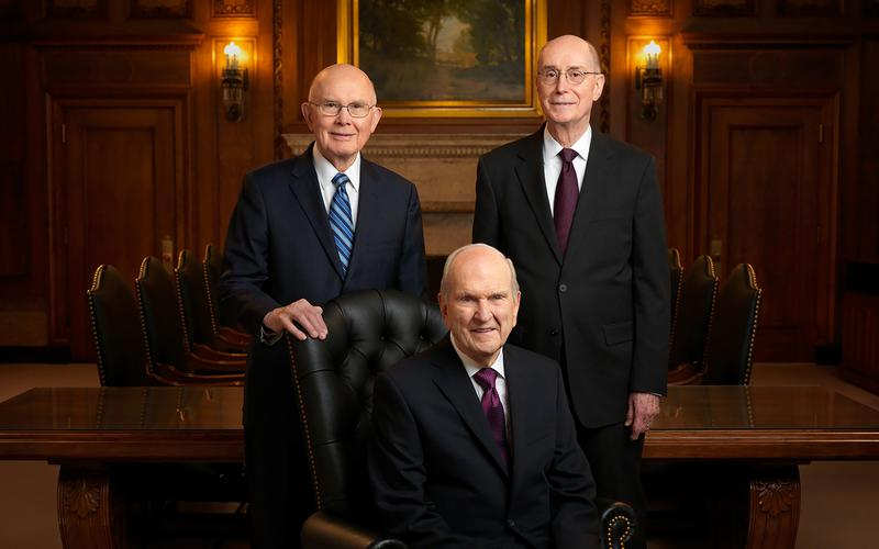 FIRST PRESIDENCY 2018 OFFICIAL PORTRAIT